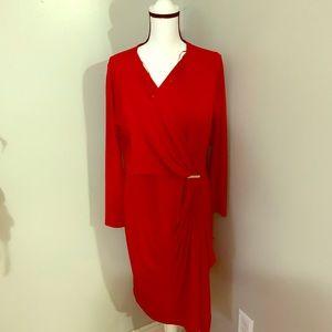 Micheal Micheal kors red dress